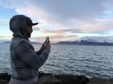 Picture of Brett taking a picture